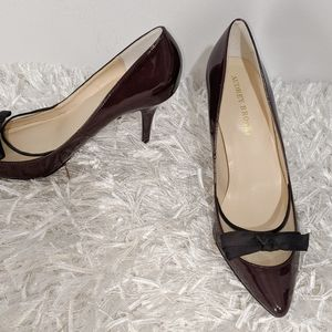 Audrey Brooke Pumps with Bow  NWOT